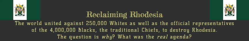 Reclaiming Rhodesia